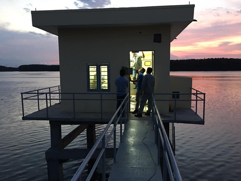 Trạm quan trắc nước mặt do Việt An Group lắp đặt tại Bà Rìa- Vũng Tàu.