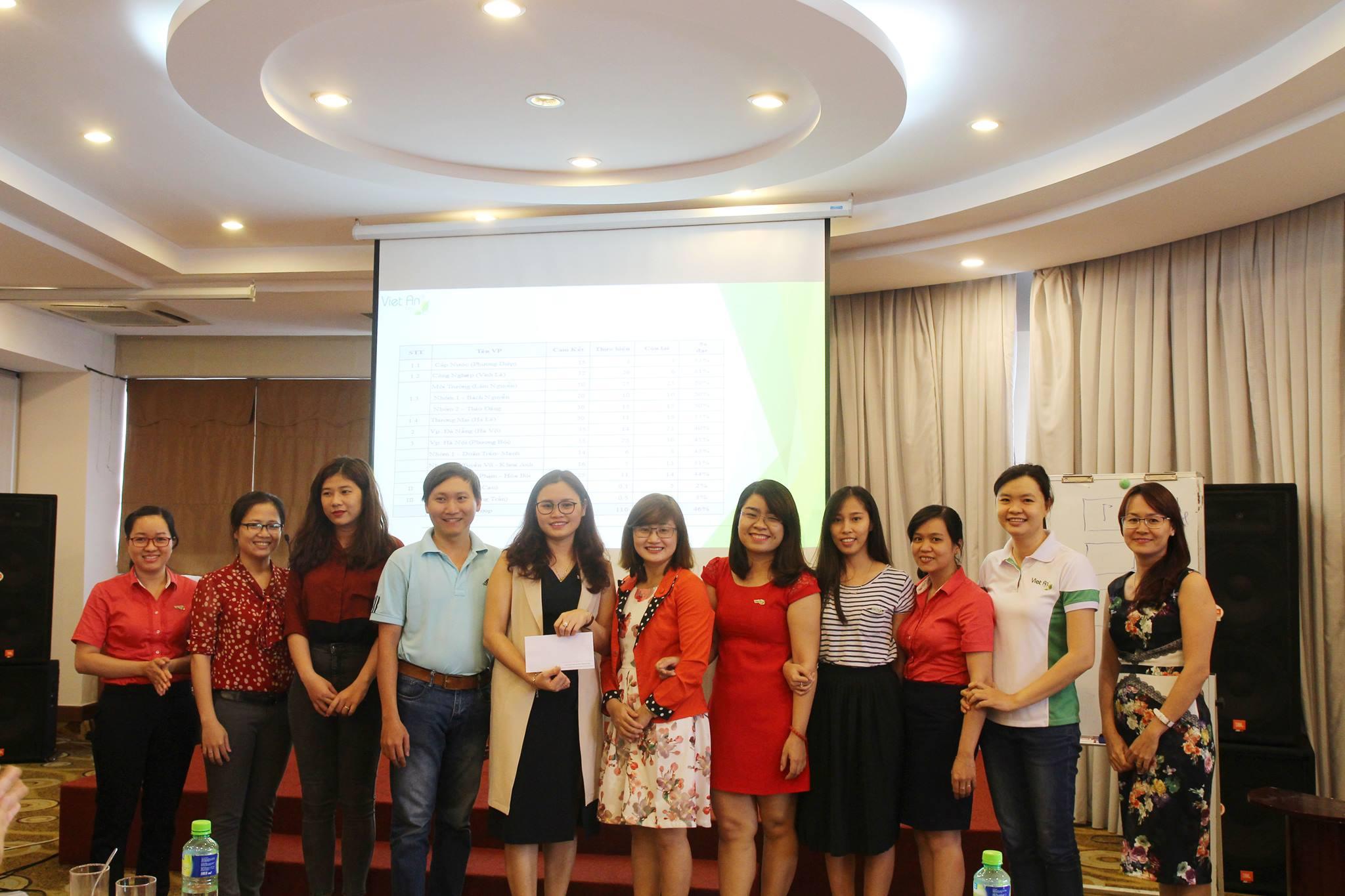 Trao giải thưởng phòng ban hỗ trợ xuất sắc 6 tháng đầu năm.