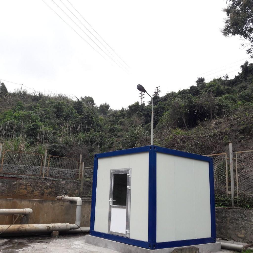 Một trong những trạm đầu tiên đã được lắp đặt tại Quảng Ninh