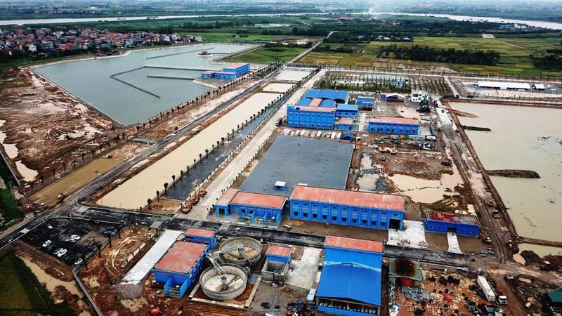 Dự án nhà máy nước sông Đuống