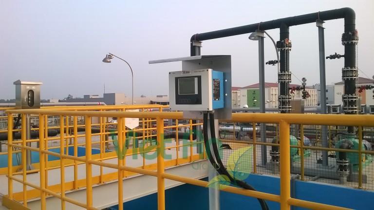 Lắp đặt thiết bị đo lường cho nhà máy SAM SUNG