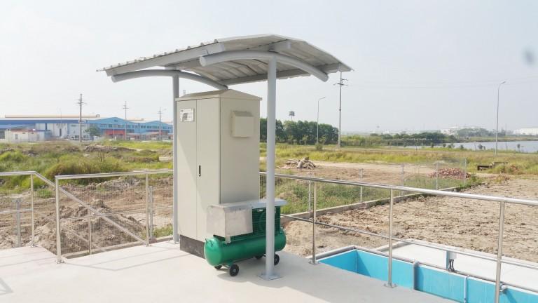 Lắp đặt hệ thống quan trắc nước thải đầu vào và đầu ra tại KCN VSIP Bắc Ninh