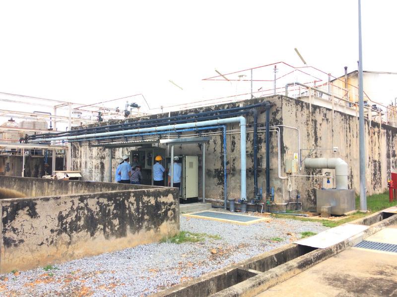 Lắp đặt TQT nước thải cho đối tác Nhật Bản