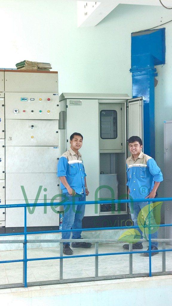 Lắp đặt TQT nước thải tại Phan Thiết – Bình Thuận