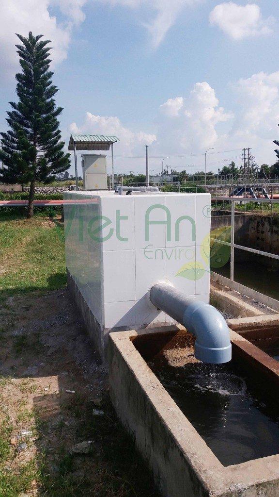 Lắp đặt trạm quan trắc nước thải tại thành phố Cần Thơ