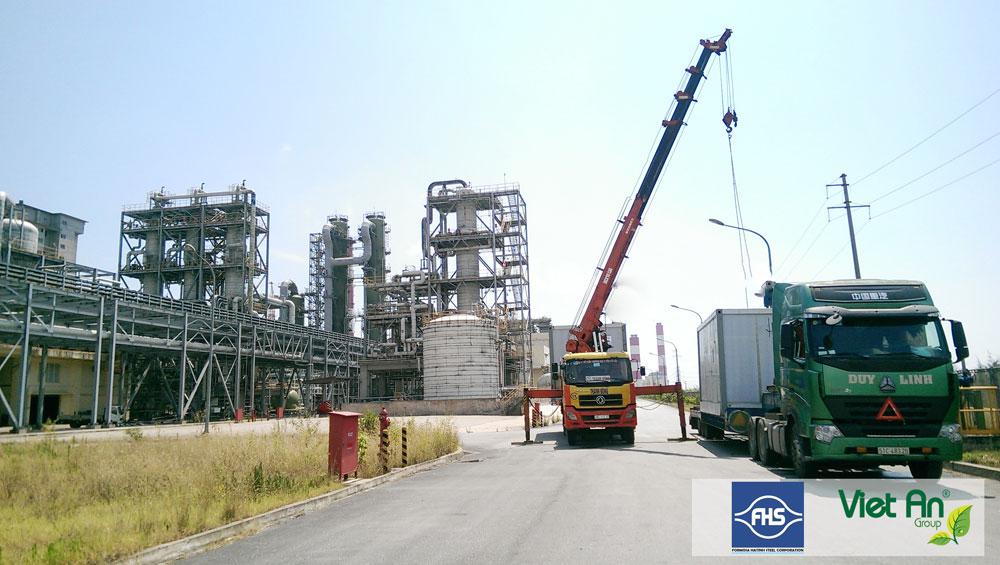 Lắp đặt trạm quan trắc nước thải tự động tại nhà máy Formosa Hà Tĩnh giai đoạn 2