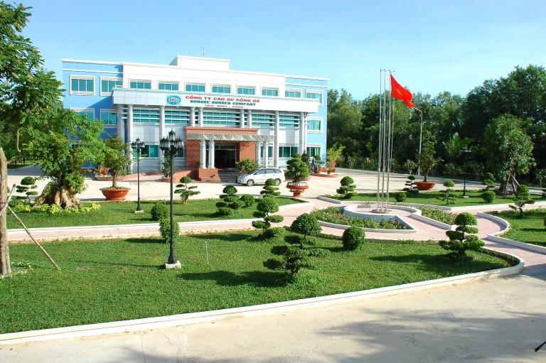 Trạm quan trắc nước thải tự động Công ty TNHH MTV Cao Su Sông Bé