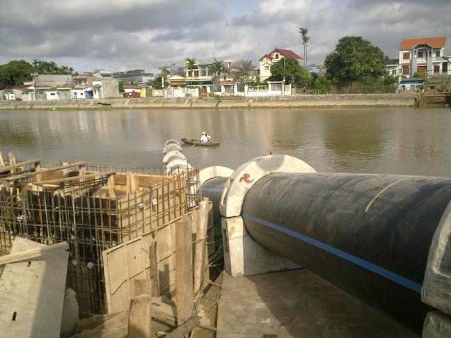 Trạm quan trắc chất lượng nước Cty cổ phần khoan và xây dựng Viwaseen3