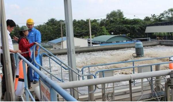 Trạm quan trắc nước thải tự động Nhà máy XLNT Biên Hòa, Đồng Nai