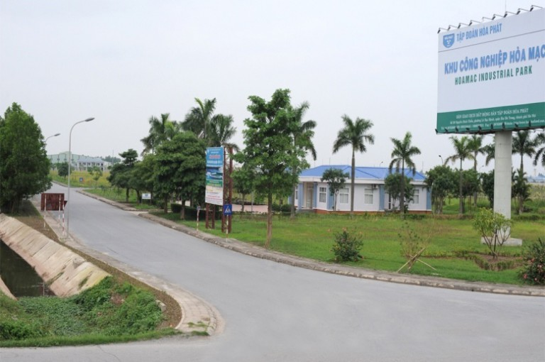 Trạm quan trắc nước thải tự động Nhà máy XLNT Tập trung KCN Hòa Mạc, Hà Nam