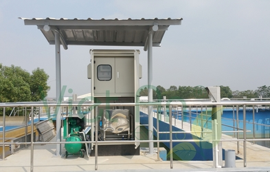 Trạm quan trắc nước thải tự động tại KCN VSIP Bắc Ninh