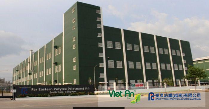Việt An lắp đặt TQT khí thải ống khói cho công ty Polytex
