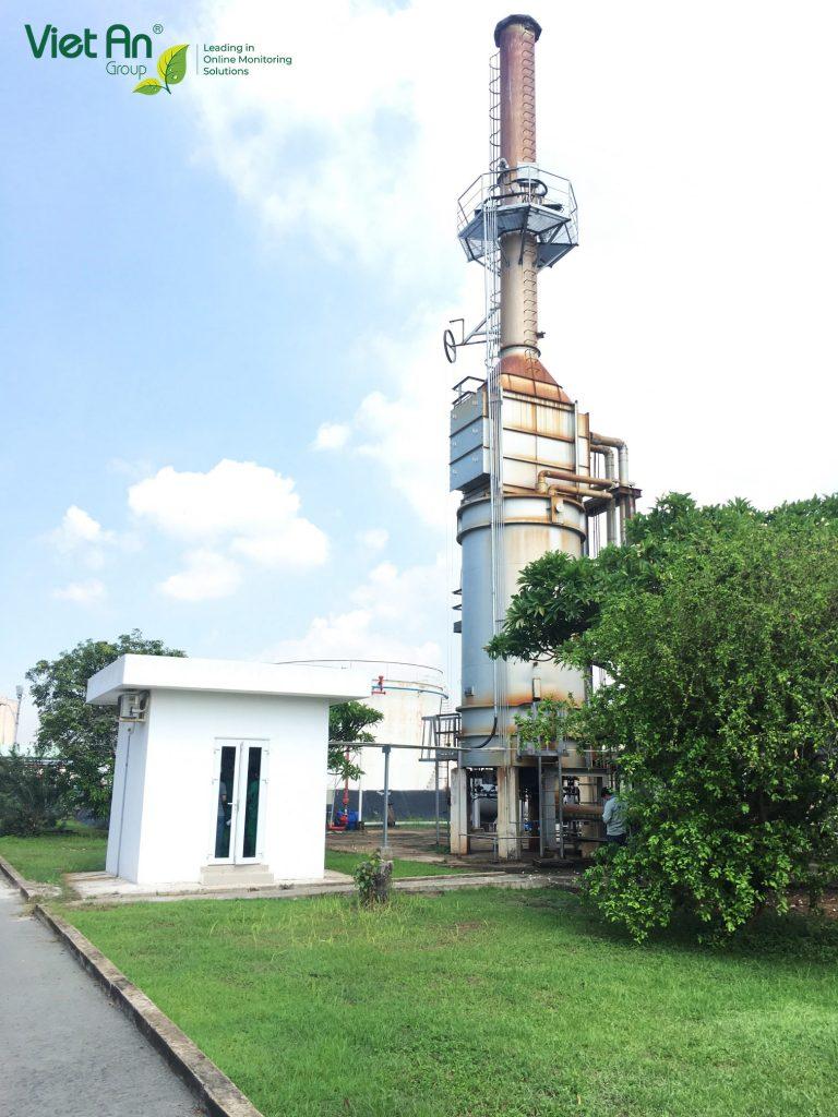 Automatic emission monitoring project – Saigon Petro Company