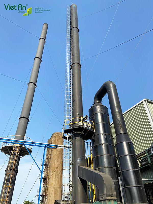 Automatic emission monitoring project – Formosa Taffeta Long An factory
