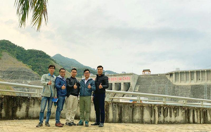 Automatic waste water monitoring project – Lai Chau hydropower plant