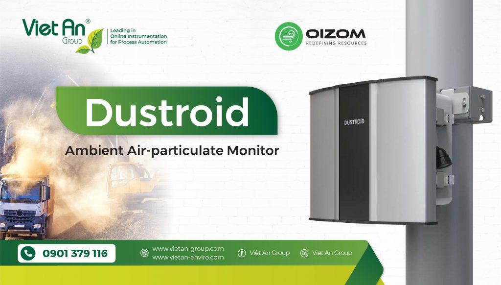 Thiết bị giám sát bụi xung quanh liên tục – Ambient Dust Monitor – Dustroid