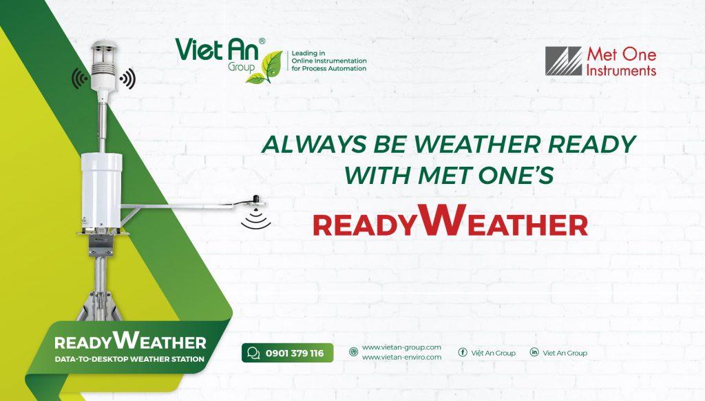 Trạm thời tiết ReadyWeather là sự bổ sung mới nhất của MetOne.