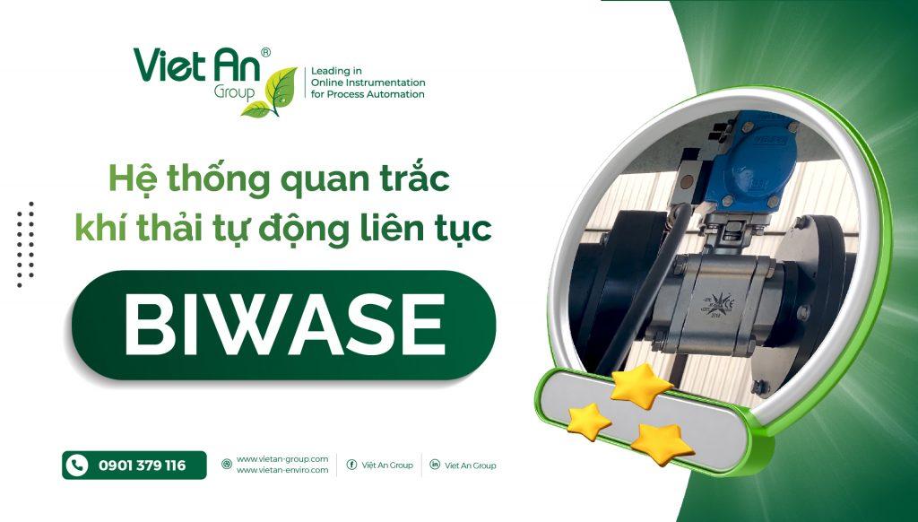 Hệ thống quan trắc khí thải tự động liên tục BIWASE
