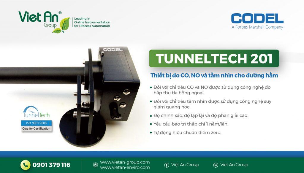 Thiết bị giám sát chất lượng không khí đường hầm – TunelTech-201