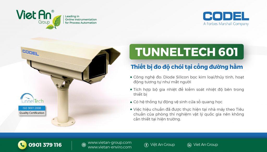 Thiết bị giám sát độ chói ở vùng đệm của đường hầm – TunnelTech 601